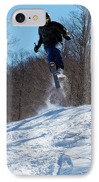 IPhone 7 Case featuring the photograph Taking Air On Mccauley Mountain by David Patterson