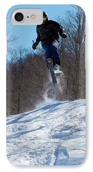 IPhone Case featuring the photograph Taking Air On Mccauley Mountain by David Patterson