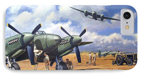 'taking Delivery - Mosquito' IPhone Case by Colin Parker