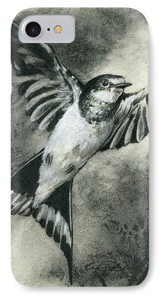 Taking Flight IPhone Case by Eric Dull