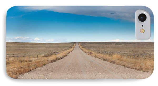 IPhone Case featuring the photograph Taking The Back Road by Fran Riley