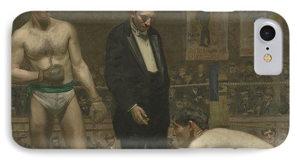 Taking The Count, 1898 IPhone Case by Thomas Cowperthwait Eakins