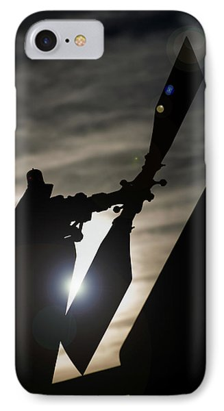 IPhone Case featuring the photograph Tale Sun by Paul Job