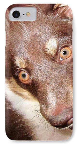 Talking Dog Phone Case by Gwyn Newcombe
