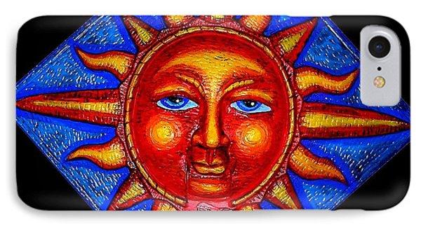 Talking Sun Phone Case by Genevieve Esson