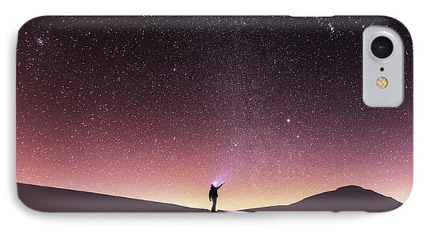 Talking To The Stars Phone Case by Evgeni Dinev