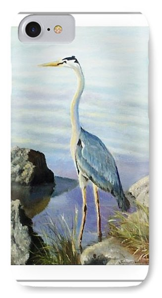 Tall Fellow Art Card IPhone Case by Harriett Masterson