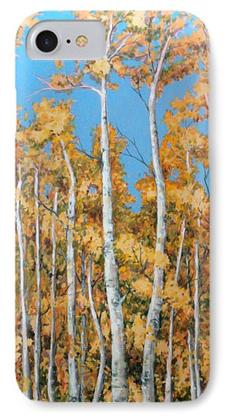 Tall Poplars IPhone Case