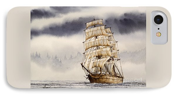 Tall Ship Adventure IPhone Case by James Williamson