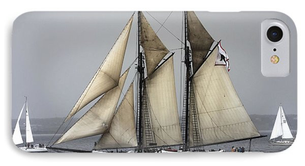 Tall Ship IPhone Case by Dapixara Art