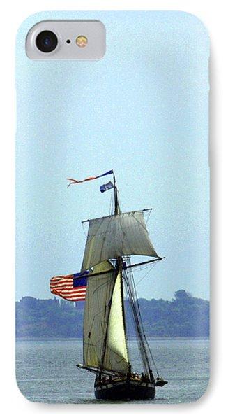 Tall Ships Boston 2017 IPhone Case
