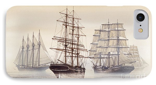 Tall Ships Phone Case by James Williamson