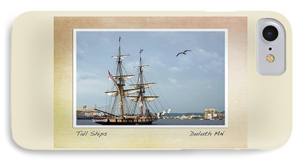 IPhone Case featuring the photograph Tall Ships V3 by Heidi Hermes