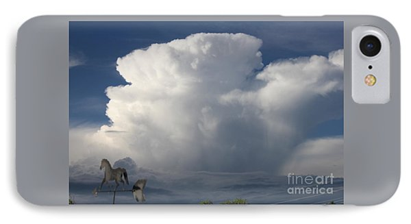 Tall Storm Clouds IPhone Case