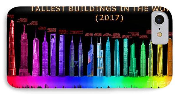Tallest Buildings IPhone Case
