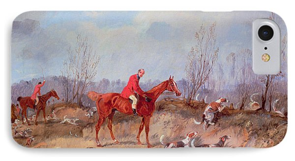 Tally Ho IPhone Case by Samuel Henry Alken Jnr
