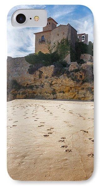 Tamarit Castle Approach IPhone Case by Joan Carroll