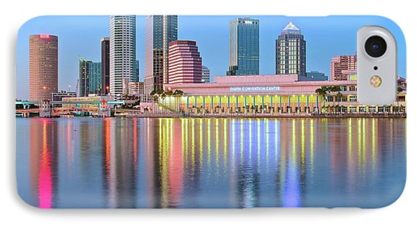 Tampa Bay Aglow 2016 IPhone Case