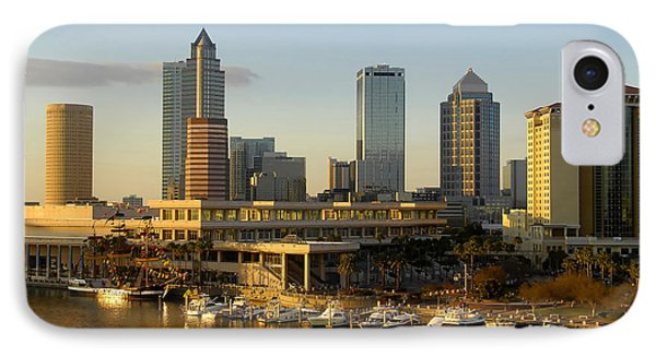 Tampa Bay And Gasparilla IPhone Case by David Lee Thompson