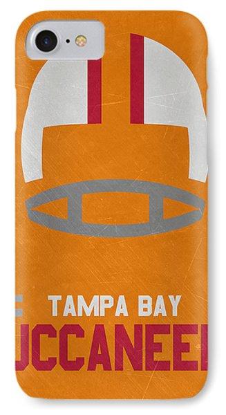 Tampa Bay Buccaneers Vintage Art IPhone Case by Joe Hamilton