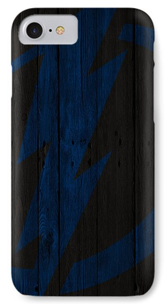 Tampa Bay Lightning Wood Fence IPhone Case by Joe Hamilton
