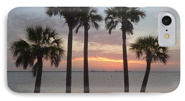 Tampa Bay Sunset IPhone Case by Gail Kent