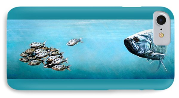 Tampa Bay Tarpon IPhone Case by Joan Garcia
