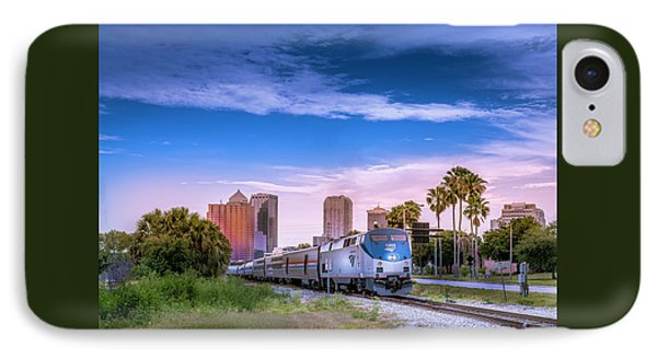 Tampa Departure IPhone Case by Marvin Spates