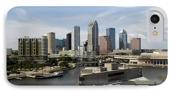 Tampa Florida Landscape Phone Case by David Lee Thompson