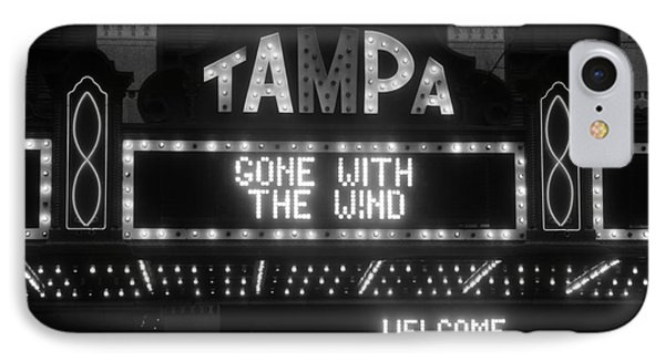 Tampa Theatre 1939 Phone Case by David Lee Thompson