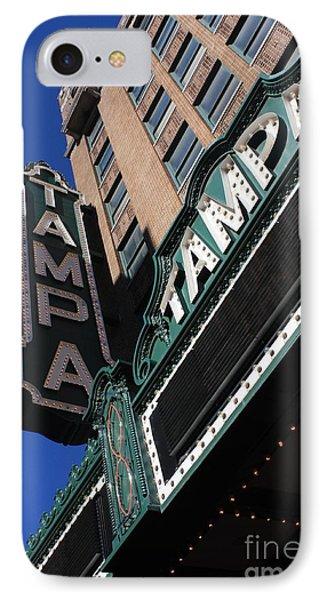 Tampa Theatre  Phone Case by Carol Groenen