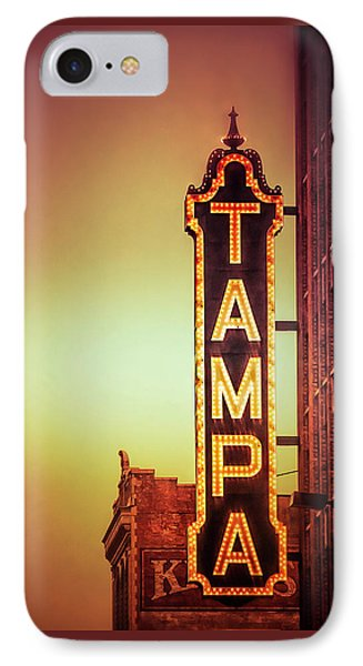 IPhone Case featuring the photograph Tampa Theatre by Carolyn Marshall