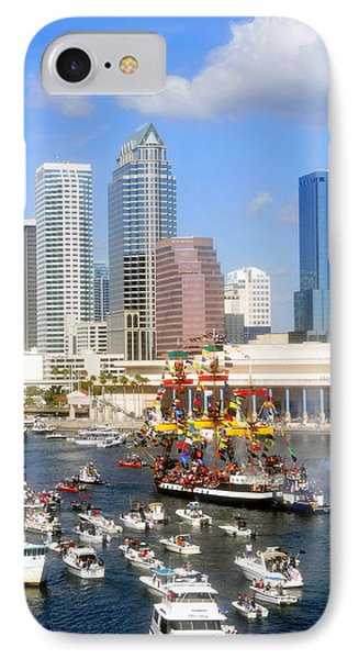 Tampa's Flag Ship Phone Case by David Lee Thompson