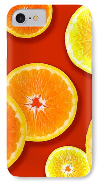 Tangerine Tango IPhone Case by Tara Hutton