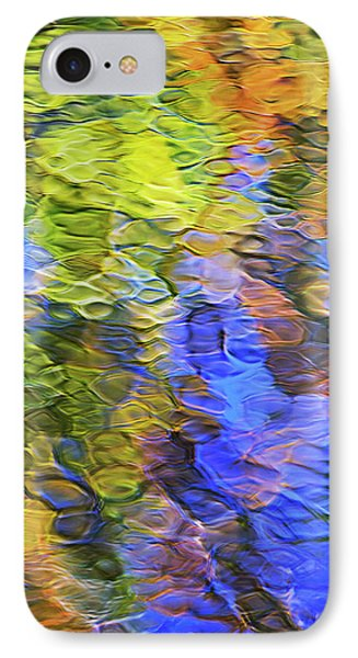 Tangerine Twist Mosaic Abstract Art Phone Case by Christina Rollo