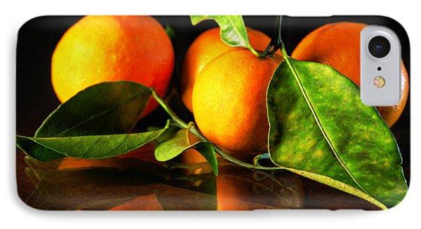 Tangerines IPhone Case by Robert Och