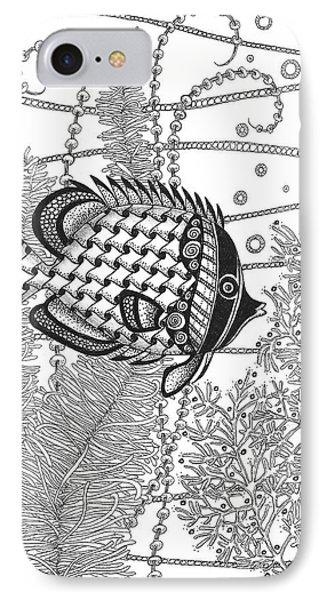 Tangle Fish II IPhone Case