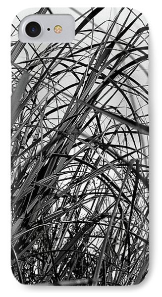 IPhone Case featuring the photograph Tangled Grass by Susan Capuano