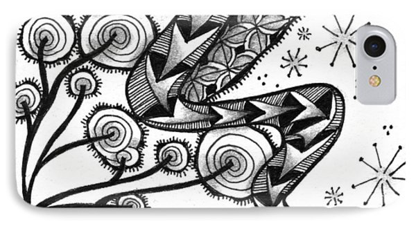 Tangled Serpent IPhone Case by Jan Steinle