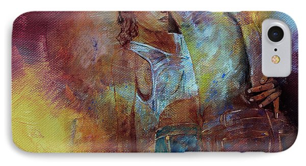 Tango Couple Dance Vby7 IPhone Case by Gull G