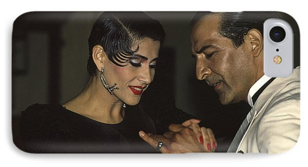 Tango Dancers IPhone Case by Michael Mogensen