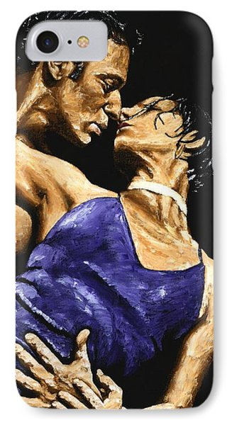 Tango Heat Phone Case by Richard Young