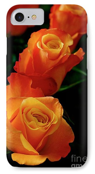 Tango In Three IPhone Case by Cathy Dee Janes