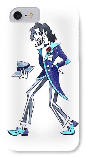 Tango Man - Drawing Illustration IPhone Case by Arte Venezia