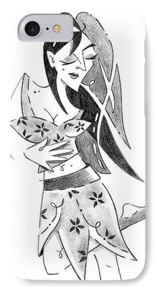 Tango Nuevo - Woman Step Colgada IPhone Case by Arte Venezia
