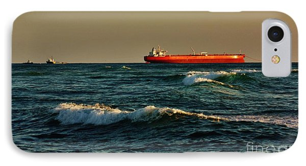 IPhone Case featuring the photograph Tanker Nordic Zenith by Craig Wood