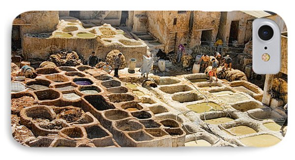Tanneries Of Fes Morroco IPhone Case