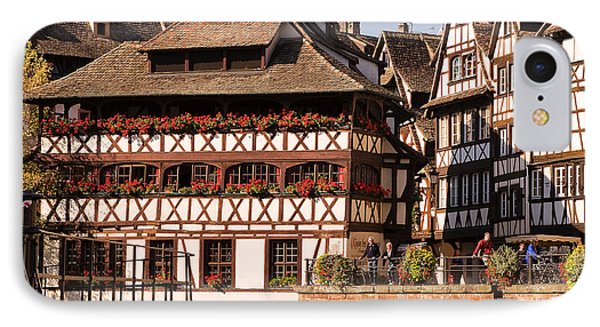 Tanners House Strasbourg Phone Case by Louise Heusinkveld