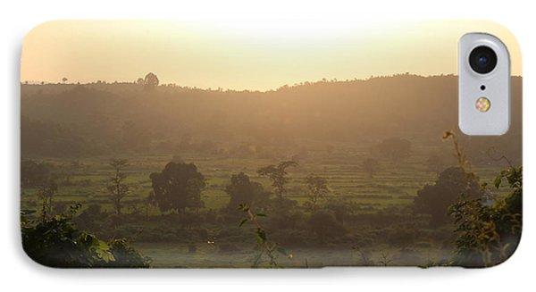 Tansa Valley, Vajreshwari From The Devi Temple Complex IPhone Case
