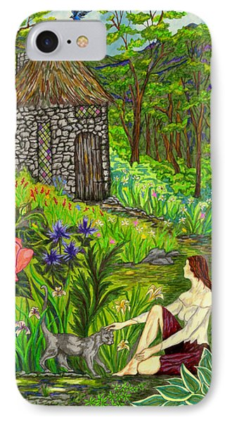 Tansel's Garden IPhone Case by FT McKinstry